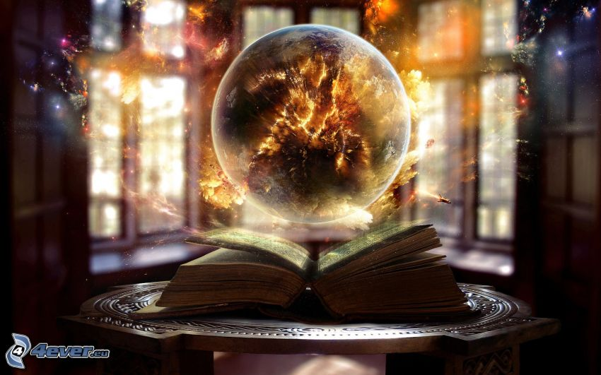 planéta, kniha