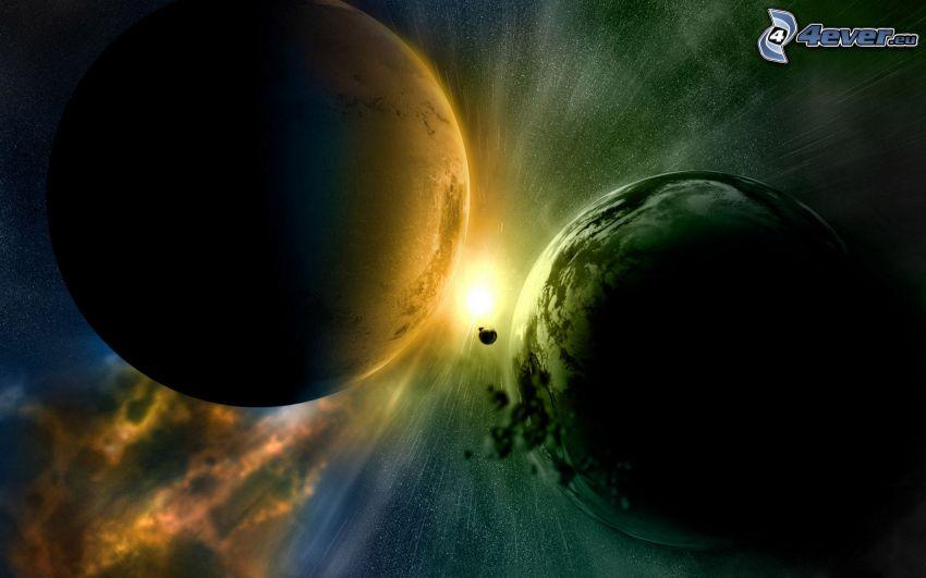 planéty, hviezda