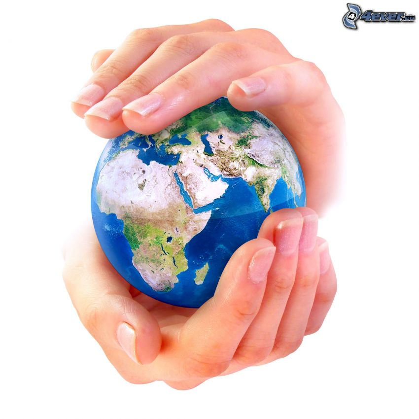 Zem, ruky