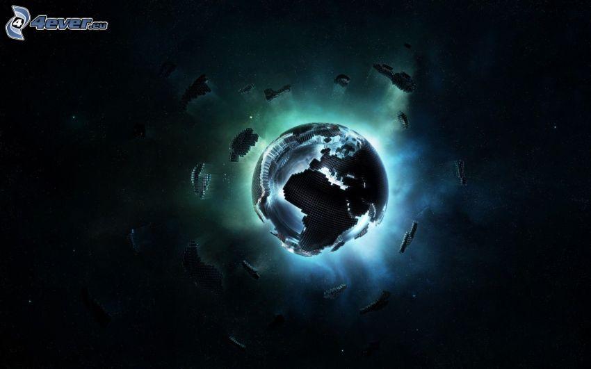 Zem, svetlo