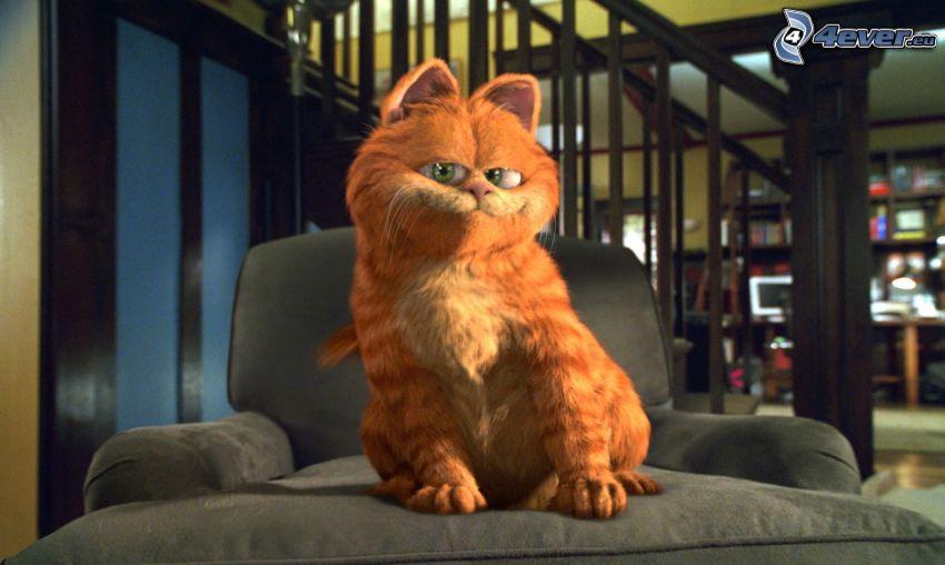 Garfield, kreslo