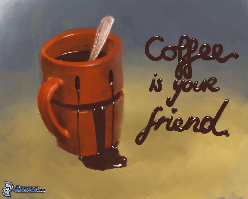 káva, šálka