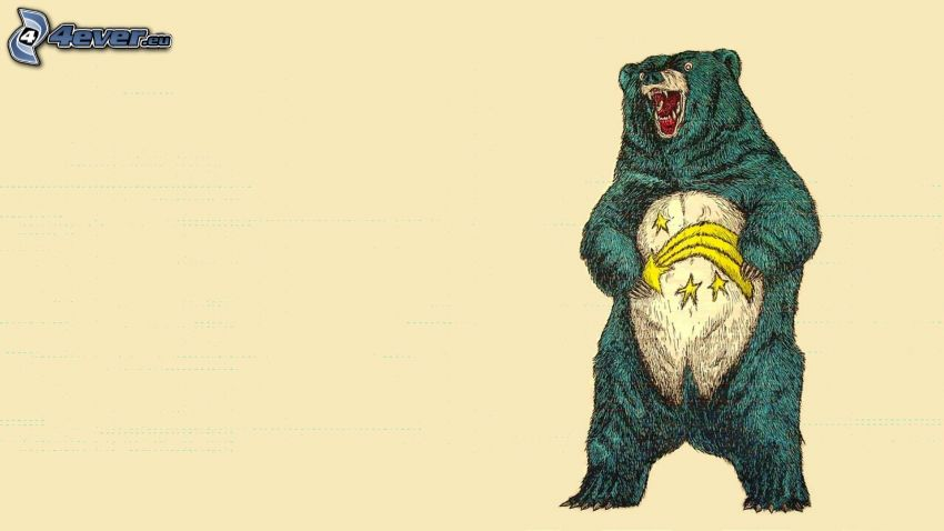 medveď, kométa, hviezdy
