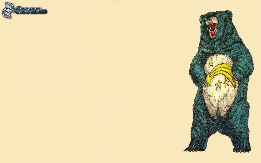 medveď, kométa