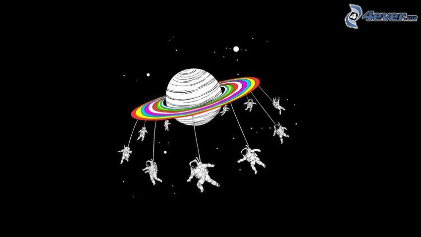 planéta, kozmonauti
