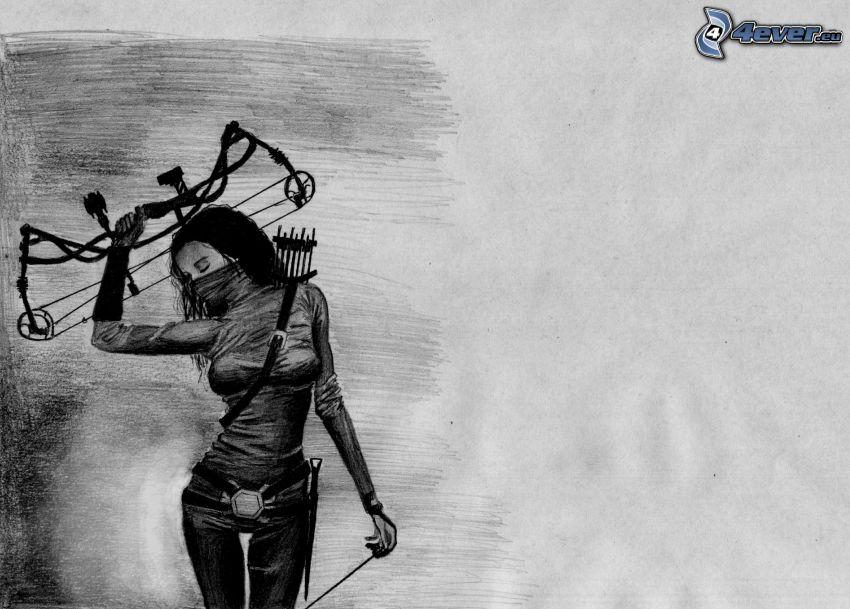 bojovníčka