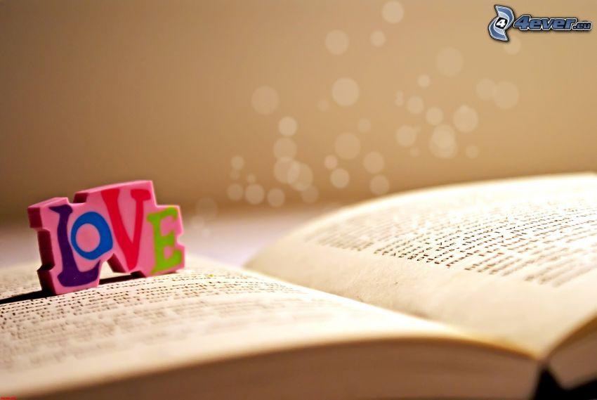 love, kniha