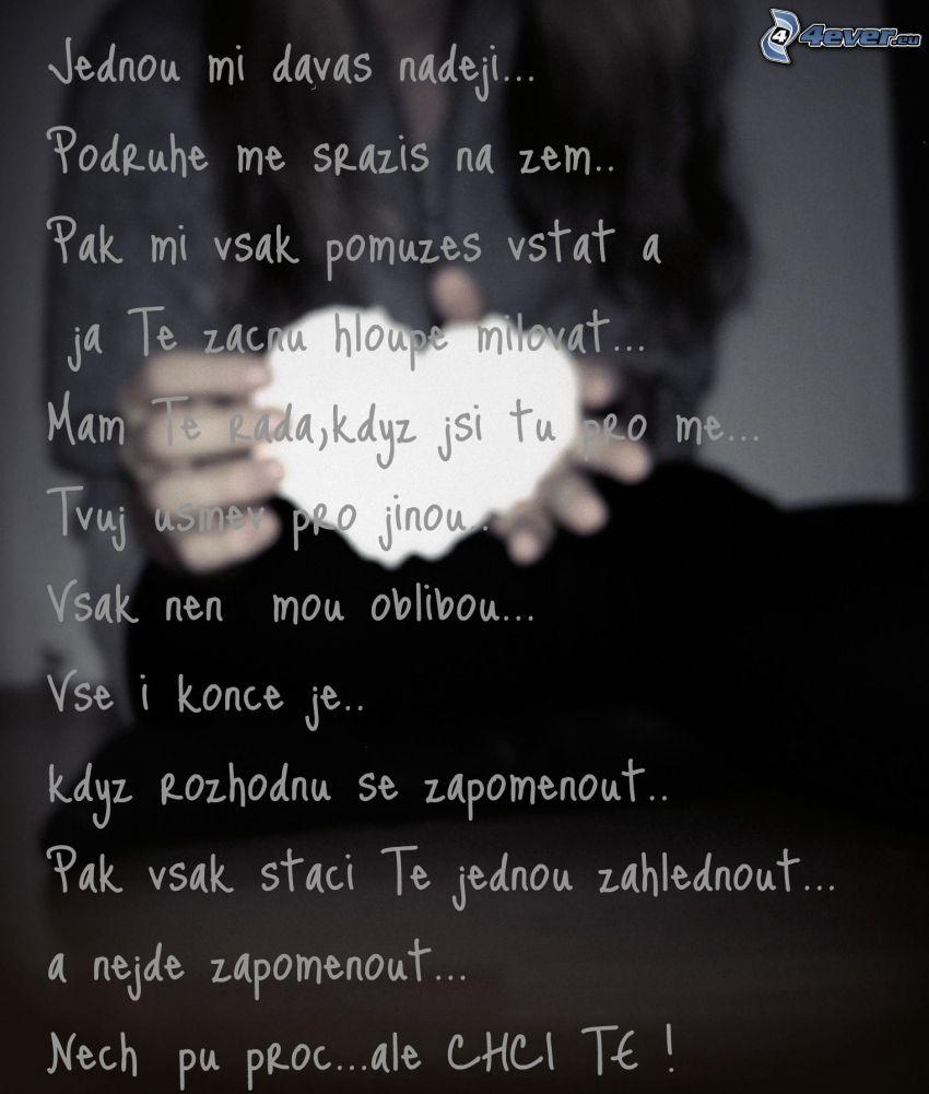 nádej, ľúbim Ťa