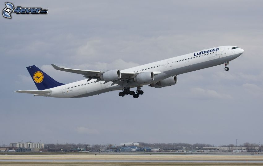Airbus A340, vzlet