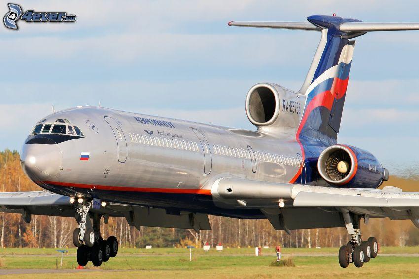 lietadlo, pristávanie