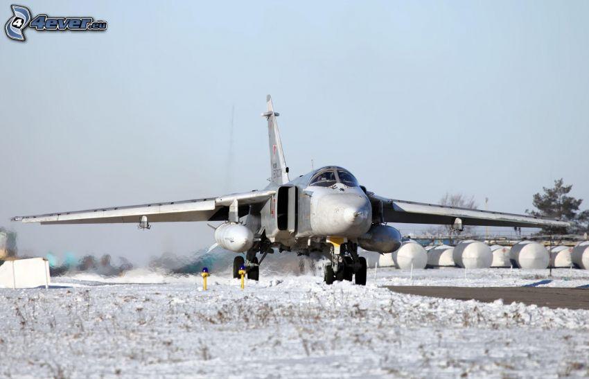 lietadlo, sneh