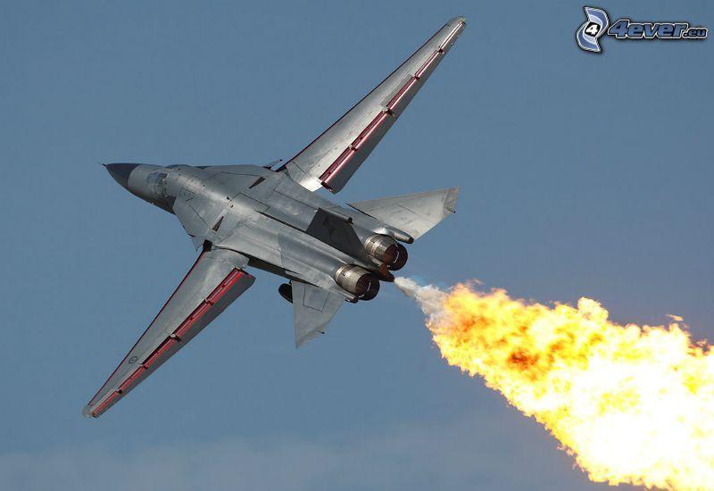 F-111 Aardvark, oheň