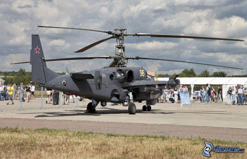Ka-52, letisko