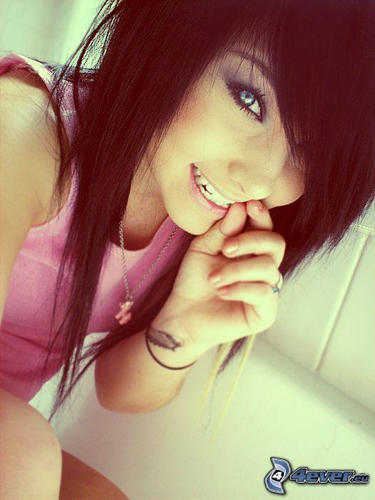 emo dievča