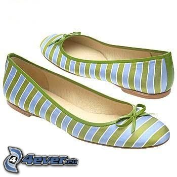 balerínky, topánky