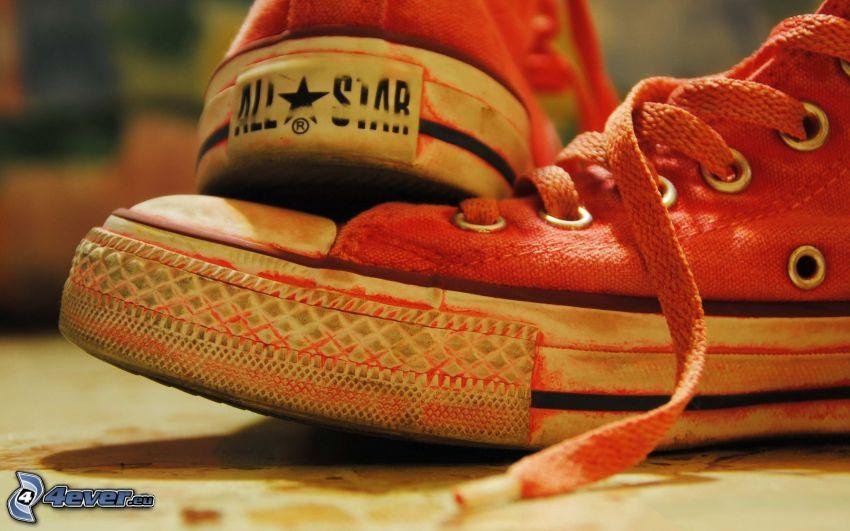 Converse, ružové tenisky