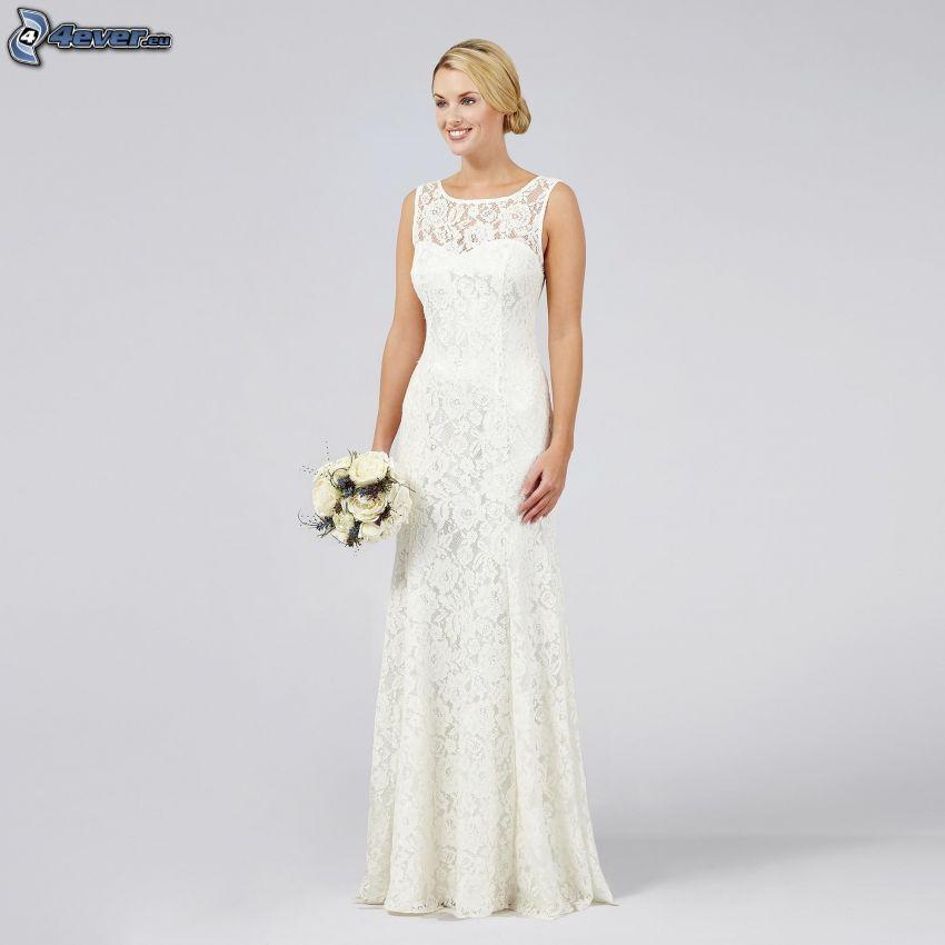 svadobné šaty, nevesta