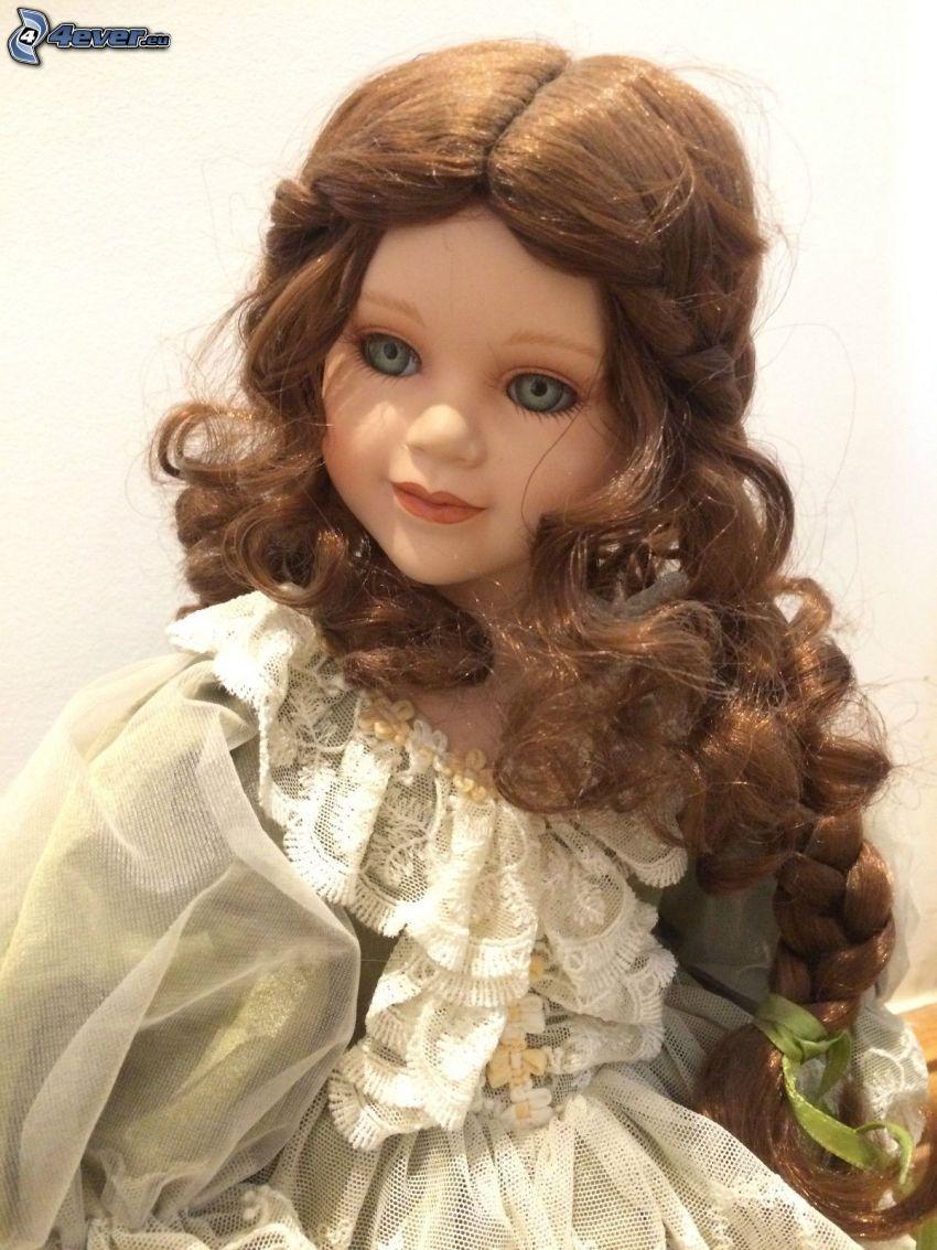 porcelánová bábika
