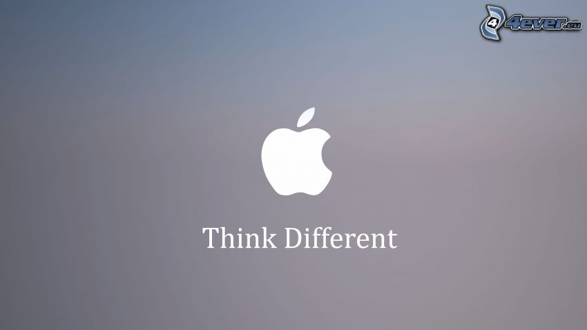 Apple, think different