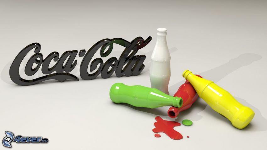 Coca Cola, fľaše