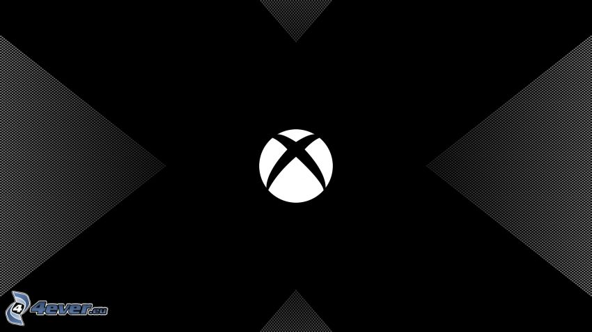 Xbox, čierne pozadie