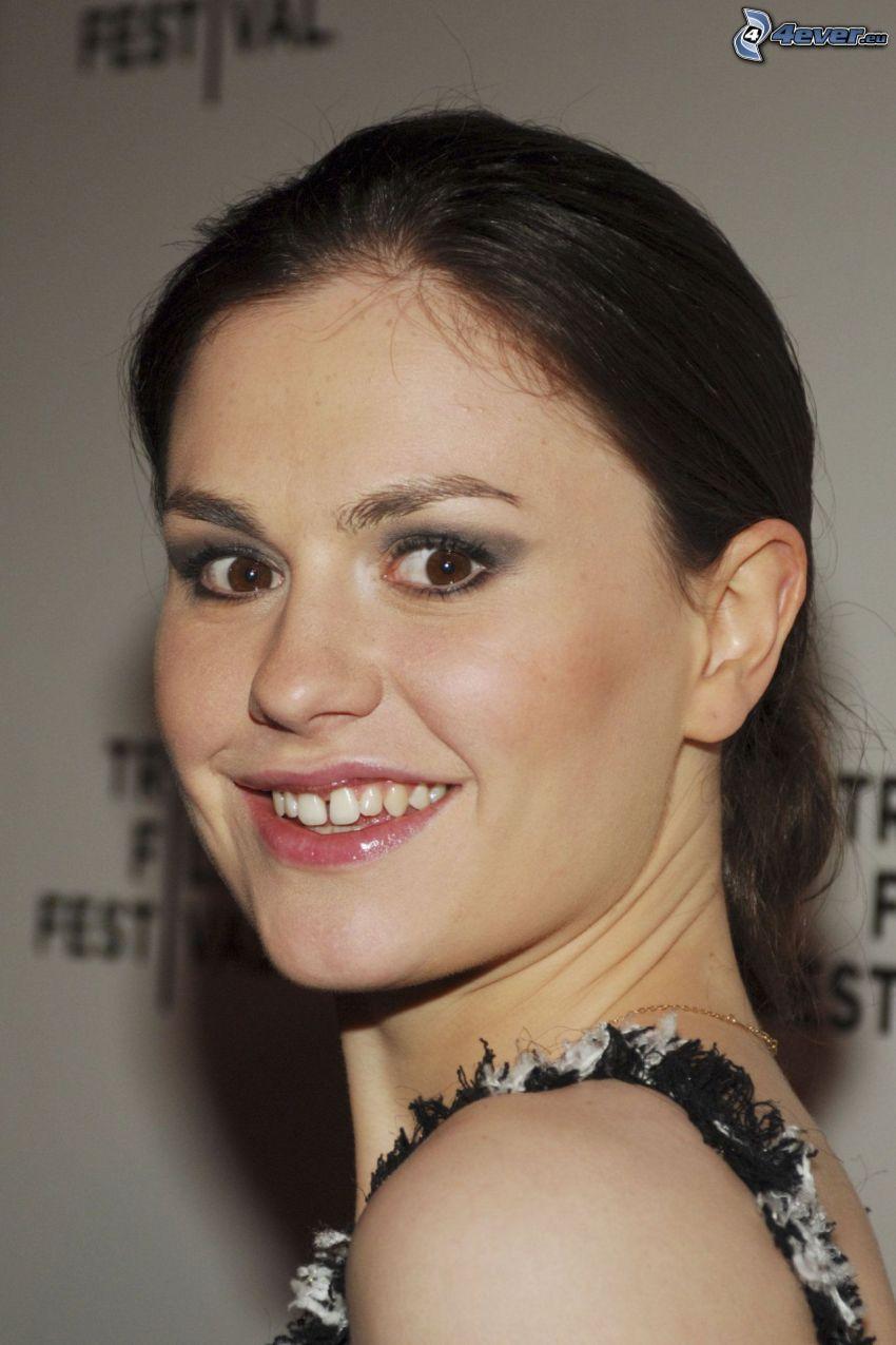 Anna Paquin, úsmev