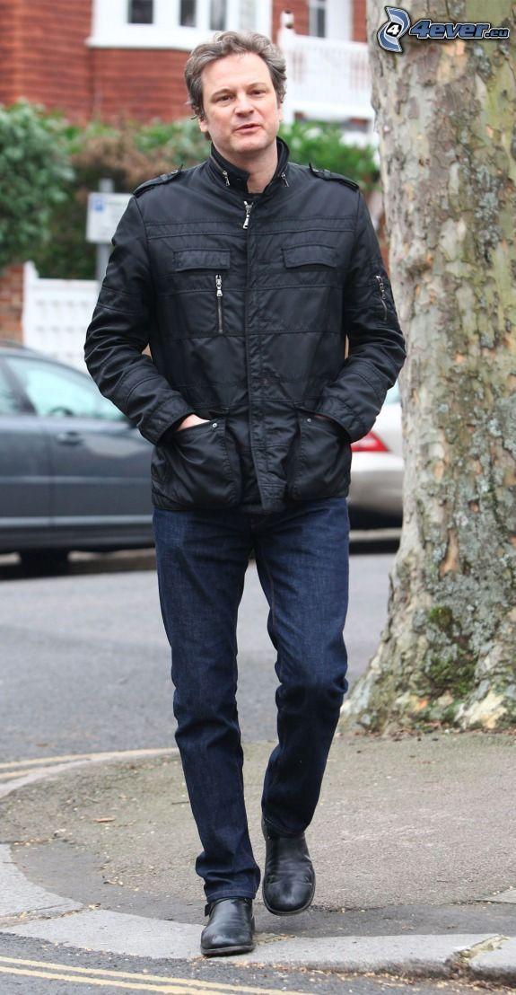 Colin Firth, ulica