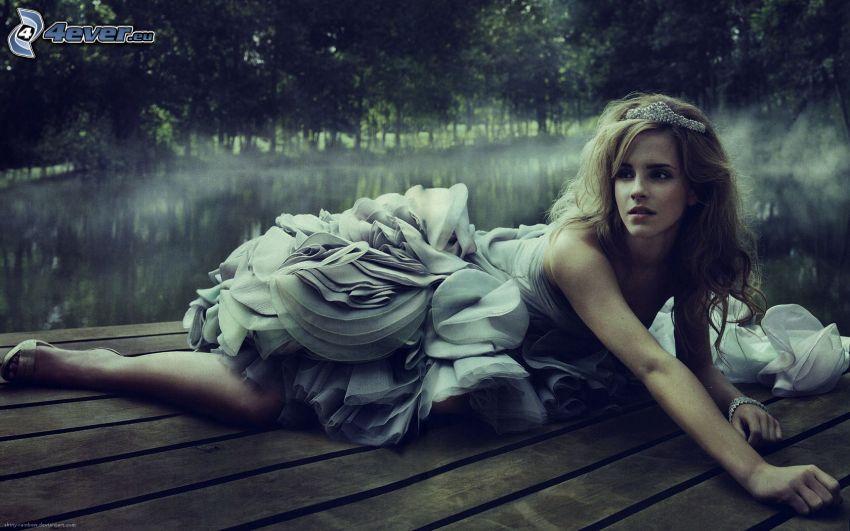 Emma Watson, jazero