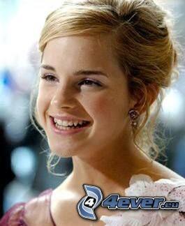 Emma Watson, úsmev, Hermiona