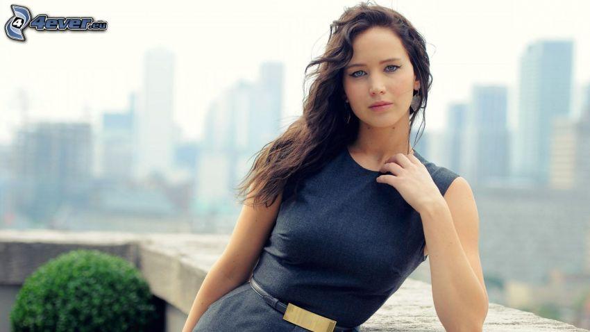 Jennifer Lawrence, výhľad na mesto