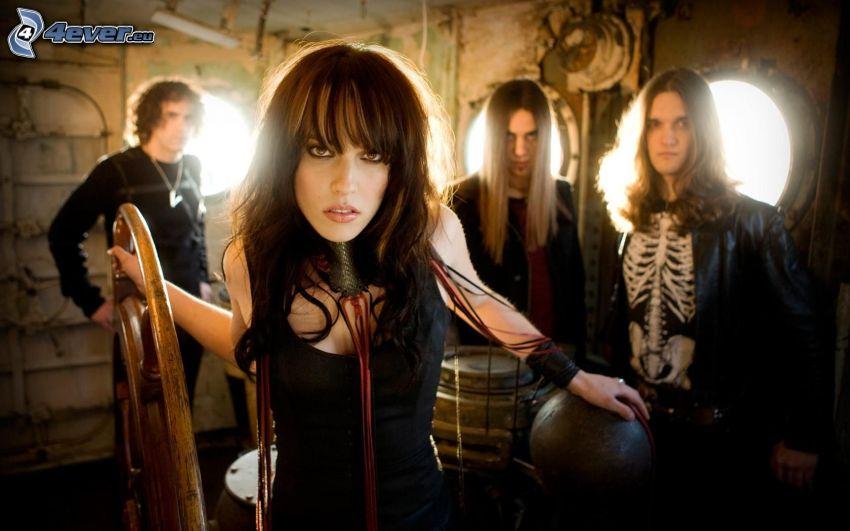 Halestorm, rock, hudobná skupina