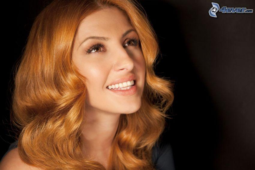 Helena Paparizou, úsmev, pohľad