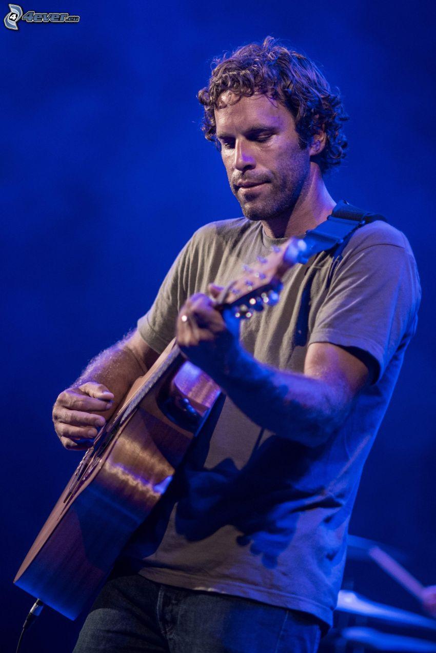 Jack Johnson, gitara, hra na gitare