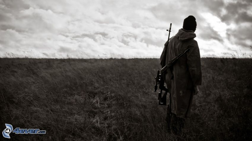 poľovník, pole