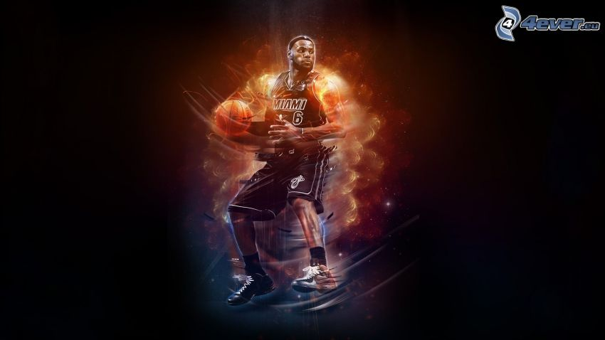 LeBron James, basketbalista