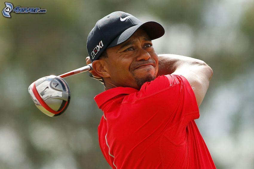 Tiger Woods, golfové palice