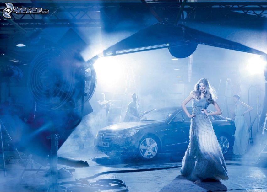modelka, Mercedes