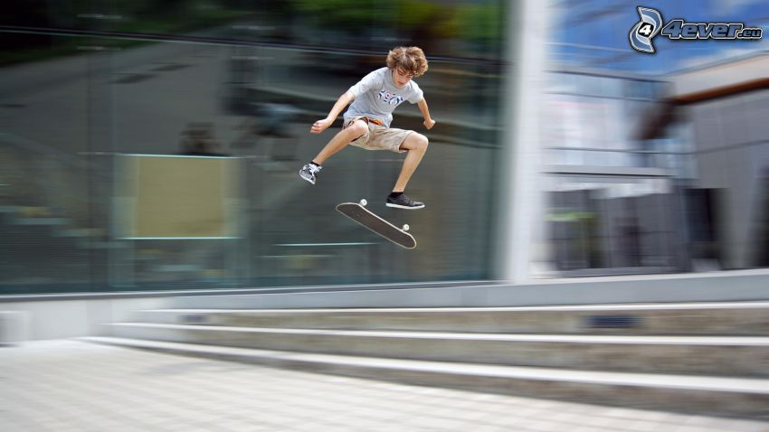 skater, výskok