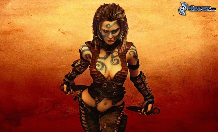 Age of Conan, fantasy žena