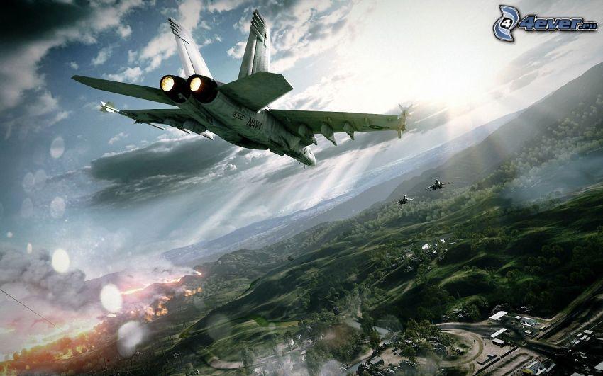 stíhačka, Battlefield 3