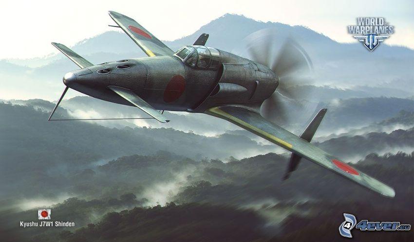 World of warplanes, pohorie