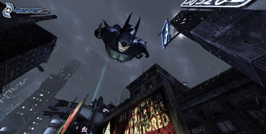 Batman, budovy