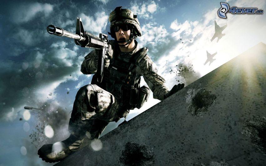 Battlefield 3, vojak