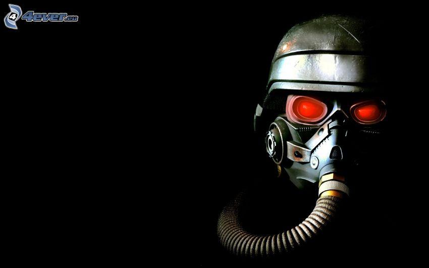 Killzone 3, človek v plynovej maske