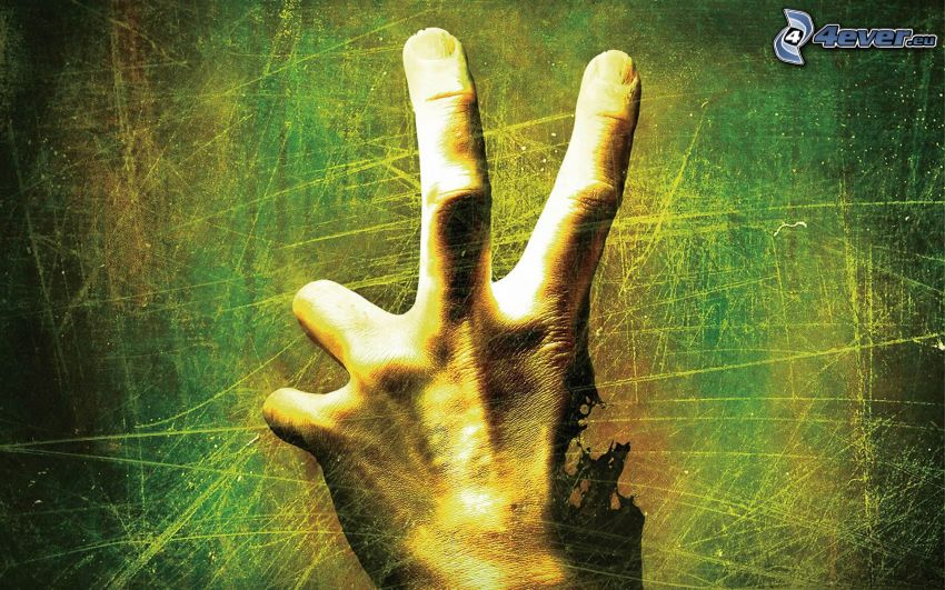 Left 4 Dead, ruka, prsty