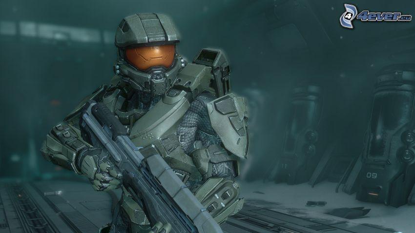 Master Chief - Halo 4, brnenie