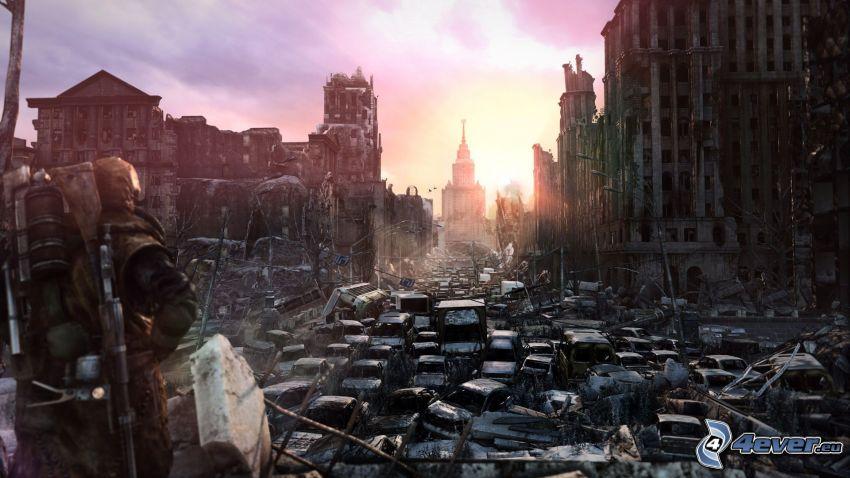Metro: Last Light, postapokalyptické mesto