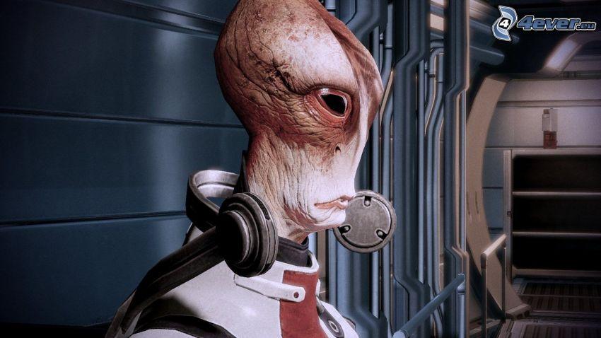 Mordin Solus, Mass Effect 2, mimozemšťan