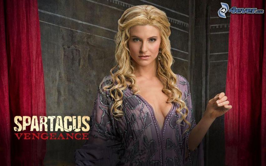 Spartacus, blondínka