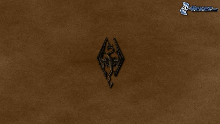 The Elder Scrolls Skyrim, logo